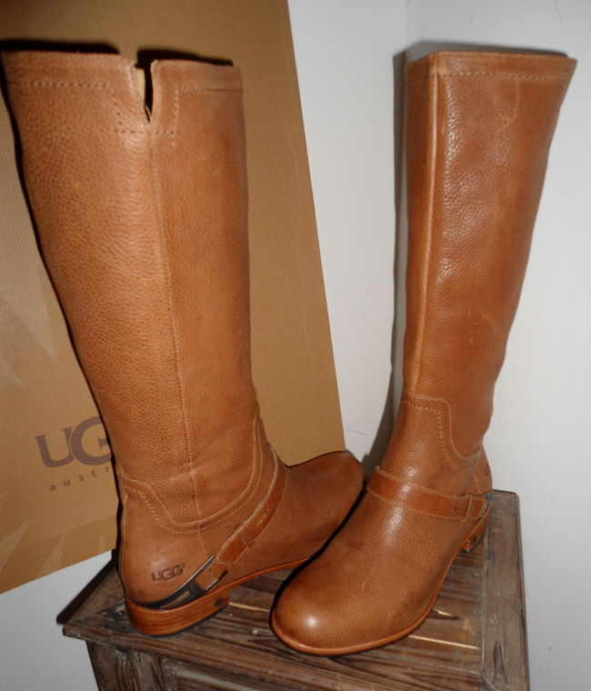 ugg australia leder boots stiefel w channing 3184 che gr 40 neu. Black Bedroom Furniture Sets. Home Design Ideas